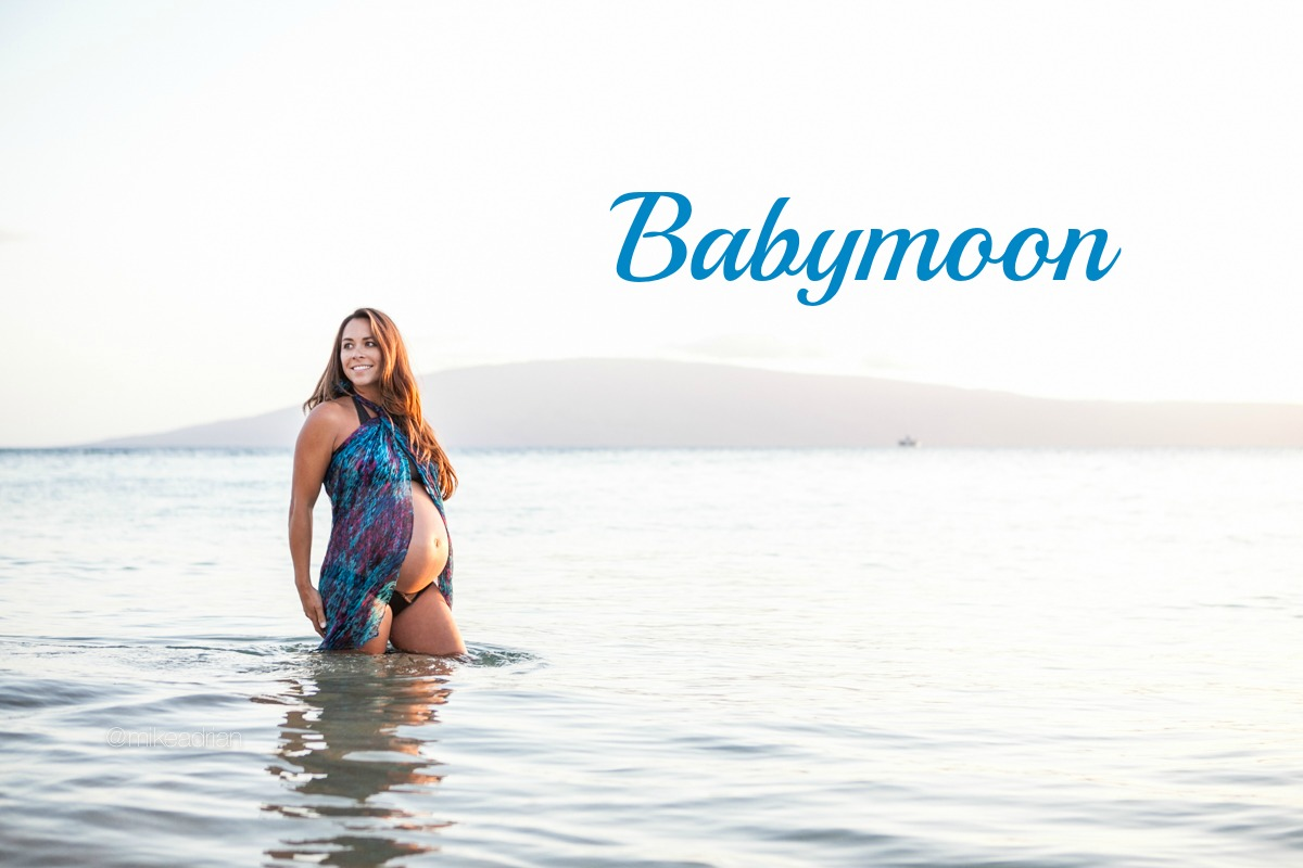 babymoon relaxing in maui bubbles and bumps