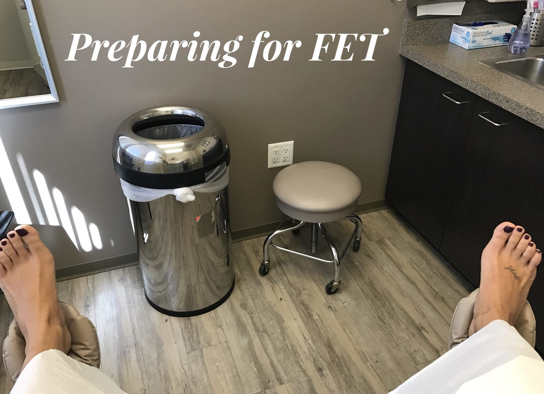 FET frozen embryo transfer
