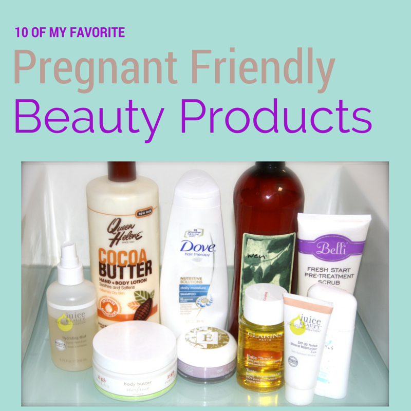 Beauty Products Good For Pregnancy
